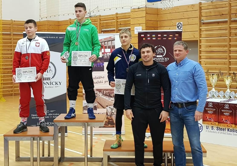 Dario Dittrich - Sieger in Kosice (Slowakei)