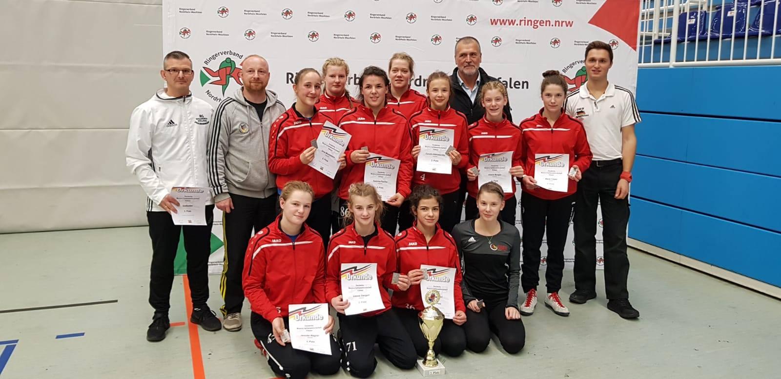 Chiara Hirt, KSV Gottmadingen mit Team Südbaden 2018