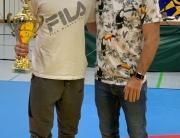 Dario Dittrich mit Bundestrainer Marcel Ewald